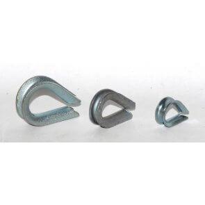 Guardacabos para cable de acero ¼