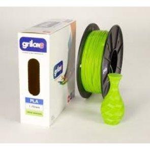 Filamento Pla para Impresora 3d DE 1.75mm Por Kg Grilon3 Color VERDE MANZANA