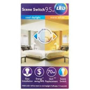 Lampara Led 9.5w Philips Sceneswitch 2 Luces
