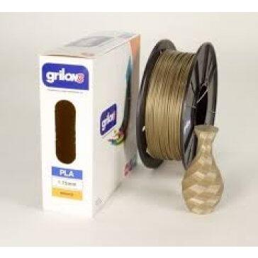 Filamento Pla para Impresora 3d DE 1.75mm Por Kg Grilon3 Color BRONCE