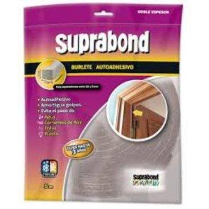 Burlete Suprabond doble espesor 10 mm x 10 mm por 5mts