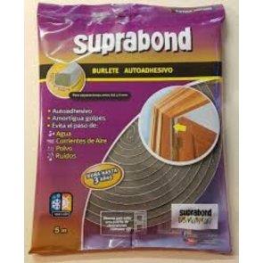 Burlete Suprabond Extra Ancho de 20 mm x 10 mm por 5 mts