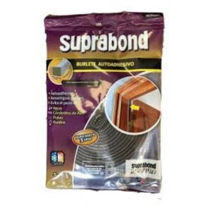 Burlete suprabond normal de 5 mm x 10 mm por 5 mts