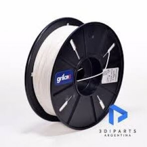 Filamento Pla para Impresora 3d DE 1.75mm Por Kg Grilon3 color BLANCO