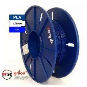Filamento Pla para Impresora 3d DE 1.75mm Por Kg Grilon3 Color AZUL